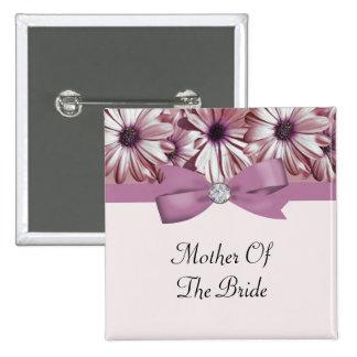 Arco de las margaritas y boda rosados de la cinta pin cuadrada 5 cm