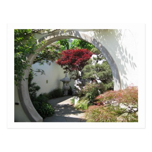 Arco de los bonsais - arboreto nacional, C.C. de Postal