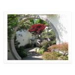 Arco de los bonsais - arboreto nacional, C.C. de W Postal