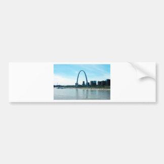 Arco de Missouri del Saint Louis Pegatina Para Auto