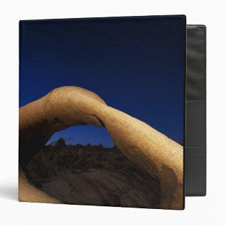 """Arco de Mobius iluminado en las colinas de Alabama Carpeta 1 1/2"""""""