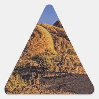 Arco de Mobius Pegatina Triangular