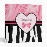 Arco de moda y nombre rosados y negros del modelo