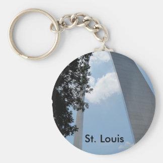 Arco de St. Louis Llavero Redondo Tipo Pin