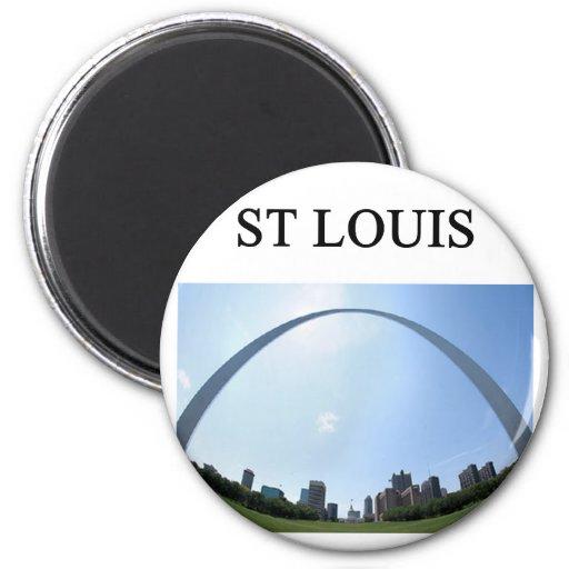 Arco de ST. LOUIS Missouri Imanes De Nevera