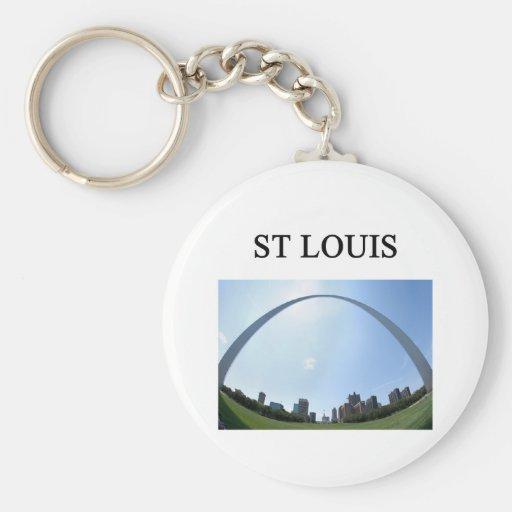 Arco de ST. LOUIS Missouri Llaveros