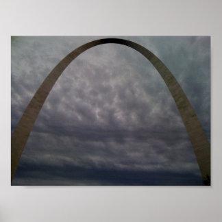Arco de St. Louis Posters