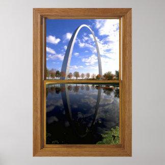 Arco de St. Louis Poster