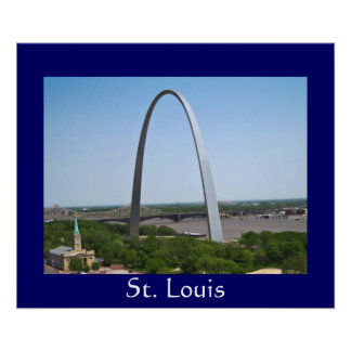 Arco de St Louis Impresiones