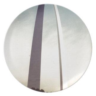 Arco de St. Louis Platos De Comidas