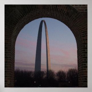 Arco de St. Louis Póster
