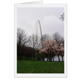 Arco de St. Louis Felicitación