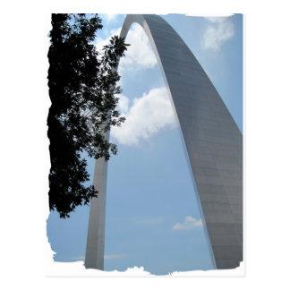 Arco de St. Louis Tarjeta Postal