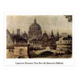Arco de Titus del romano del capricho de Bernardo  Tarjeta Postal