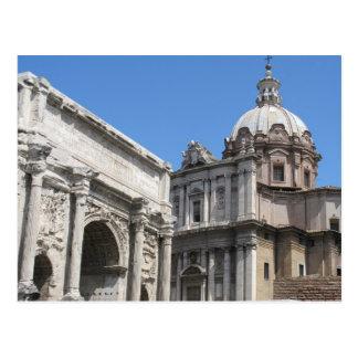Arco de Titus Roma - arquitectura clásica Tarjetas Postales