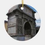 Arco de Trajan. Ornamento Para Arbol De Navidad