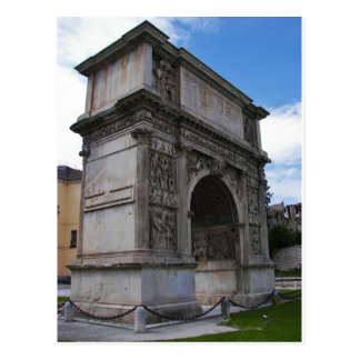 Arco de Trajan. Postal