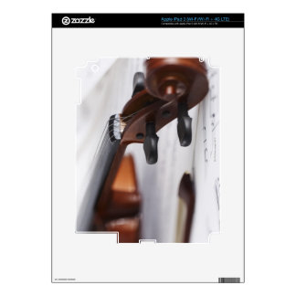 Arco de violín pegatina skin para iPad 3