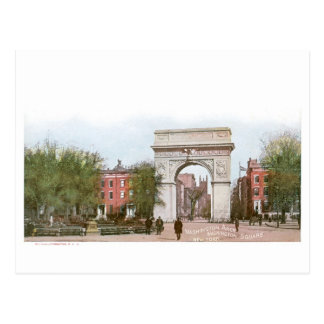 Arco de Washington, cuadrado de Washington, Nueva Postal
