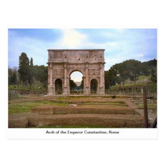 Arco del emperador Constantina, Roma 1 Postales