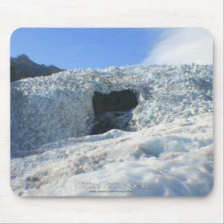 Arco del glaciar, Nueva Zelanda Tapetes De Ratón