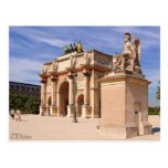Arco del Louvre Tarjetas Postales