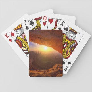 Arco del Mesa, parque nacional de Canyonlands Baraja De Póquer
