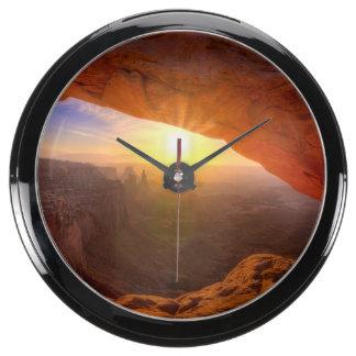 Arco del Mesa, parque nacional de Canyonlands Relojes Acuario