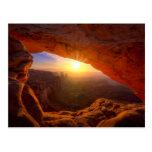 Arco del Mesa, parque nacional de Canyonlands Tarjetas Postales