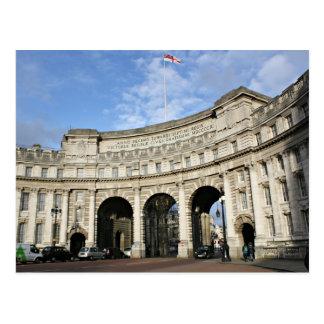 Arco del Ministerio de marina, Londres Tarjetas Postales