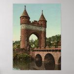 Arco del monumento de Hartford Póster