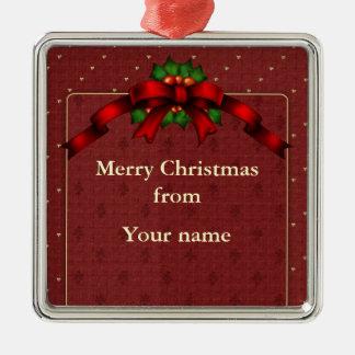 Arco del navidad adorno de navidad