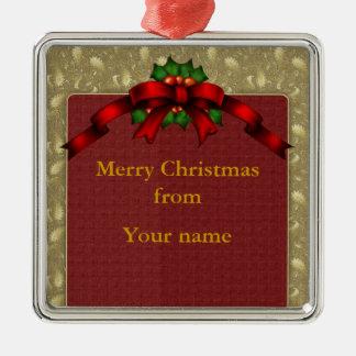 Arco del navidad adornos de navidad