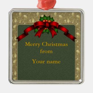 Arco del navidad ornamento de navidad