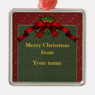 Arco del navidad adornos