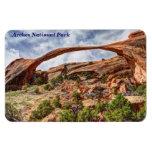 Arco del paisaje - parque nacional de los arcos -  iman rectangular