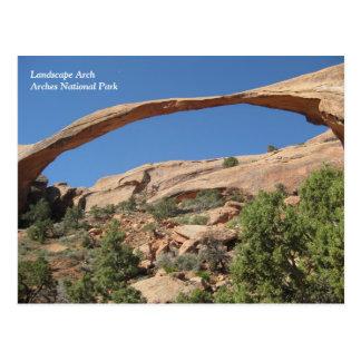 Arco del paisaje, parque nacional de los arcos tarjetas postales