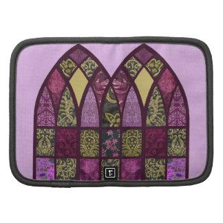 Arco del remiendo en frambuesa y púrpura planificador
