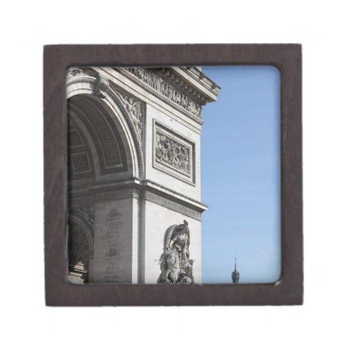 Arco del Triunfo Caja De Recuerdo De Calidad
