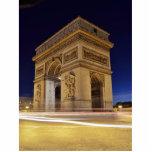 Arco del Triunfo en la noche Esculturas Fotograficas