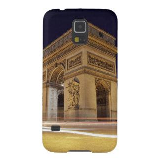 Arco del Triunfo en la noche Carcasa Para Galaxy S5