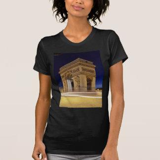 Arco del Triunfo en la noche Camiseta