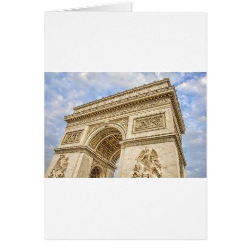 Arco del Triunfo en París Felicitación