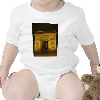 Arco del Triunfo en París Francia Traje De Bebé