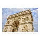 Arco del Triunfo en París Tarjeta Postal