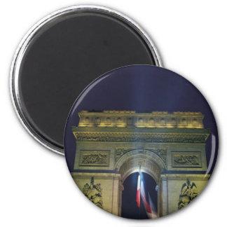 Arco del Triunfo Imán Redondo 5 Cm