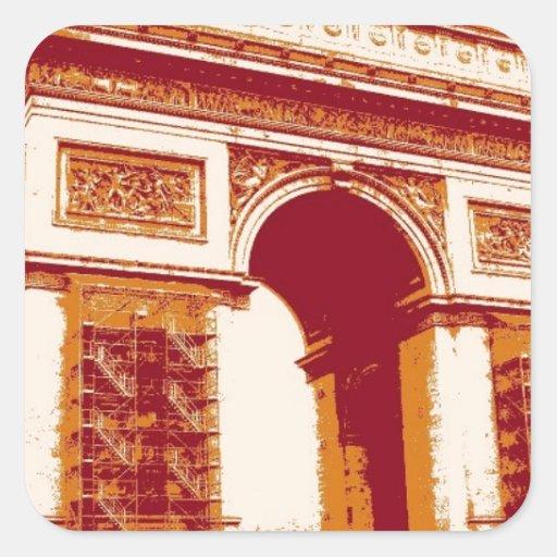 Arco del Triunfo París Colcomanias Cuadradases