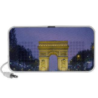 Arco del Triunfo, París, Francia, Altavoces De Viaje