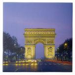 Arco del Triunfo, París, Francia, Azulejo Ceramica