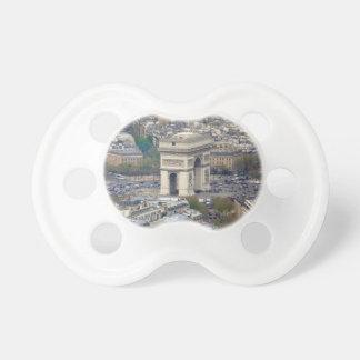 Arco del Triunfo París Francia Chupetes Para Bebes